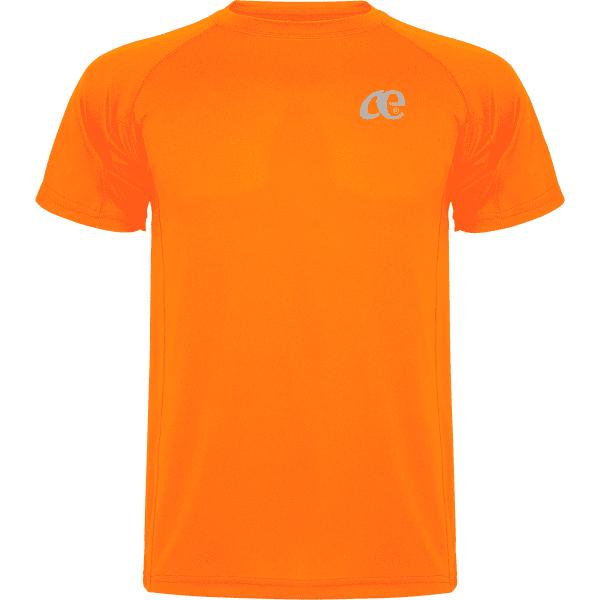 Camiseta Hombre Técnica-Daevor Omega Naranja