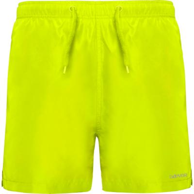 Bañador Para Hombre-Daevor Aqua Amarillo Fluor