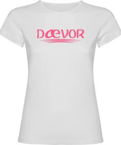 Camiseta de Mujer-Daevor Alice Blanca