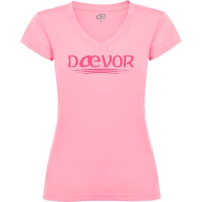 Camiseta de Mujer-Daevor Nadia Rosa HD