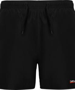 Bañador Para Hombre-Daevor Aqua de Color Negro
