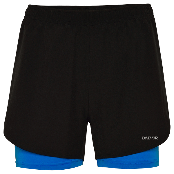 Pantalones Cortos Deportivos-Daevor Freya Azul