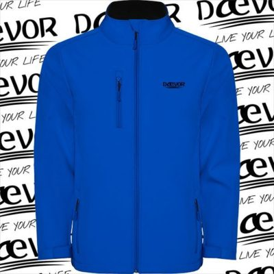 SoftShell Para Hombre-North Of The Planet Azul