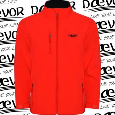 SoftShell Para Hombre-North Of The Planet Rojo