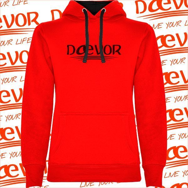 Sudadera Roja Para Mujer-Sevilla  852fee790971d