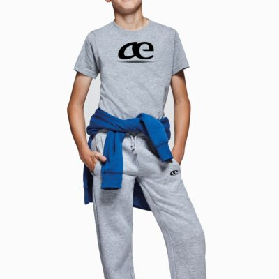 Pantalon De Chandal Largo Logotipo Bordado-Owen Kids