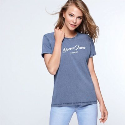 CAMISETA-DAEVOR-WOMAN-JEANS-LONDON-2019