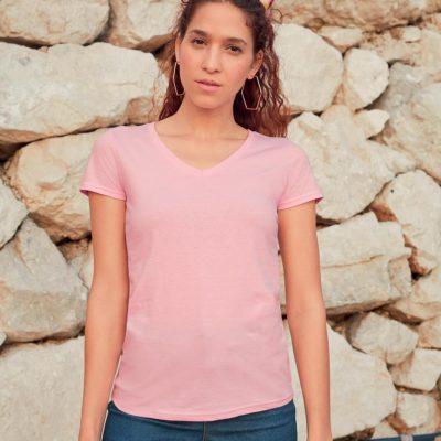 Camiseta de algodón puro Alessia Essential