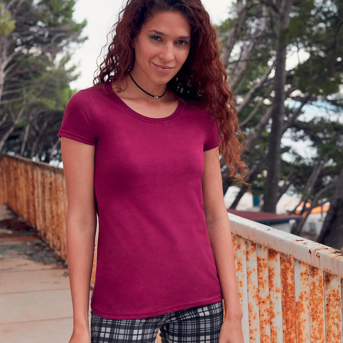 Camiseta de algodón puro Alessandra Essential