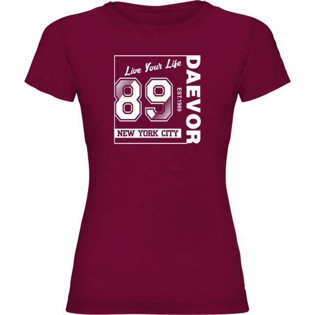 Camiseta Daevor Woman NewYorkCity 89